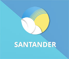 predicción de 16 días para Santander bajo modelo GFS